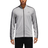 adidas Men's Jacket Squad ID Track Grey CV3254 - VuTennis