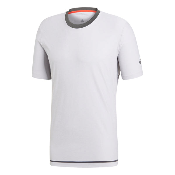 adidas Men's T-shirt Barricade Light Grey CY3320 - VuTennis