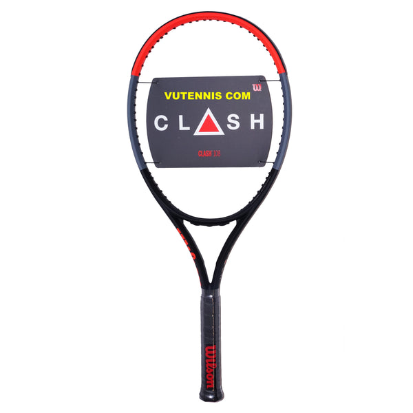 Wilson CLASH 108 tennis racquet - Custom string - VuTennis