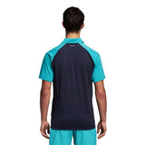 adidas Men's Polo Club - Color Block Hi-Res Aqua D98739 - VuTennis