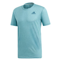 adidas Men's T-shirt Parley Striped Blue Spirit DP0286 - VuTennis
