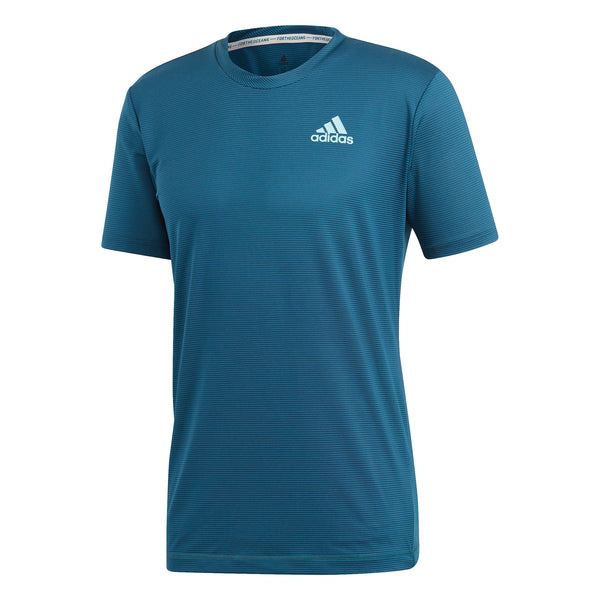 adidas Men's T-shirt Parley Striped Legend Ink DT4186 - VuTennis