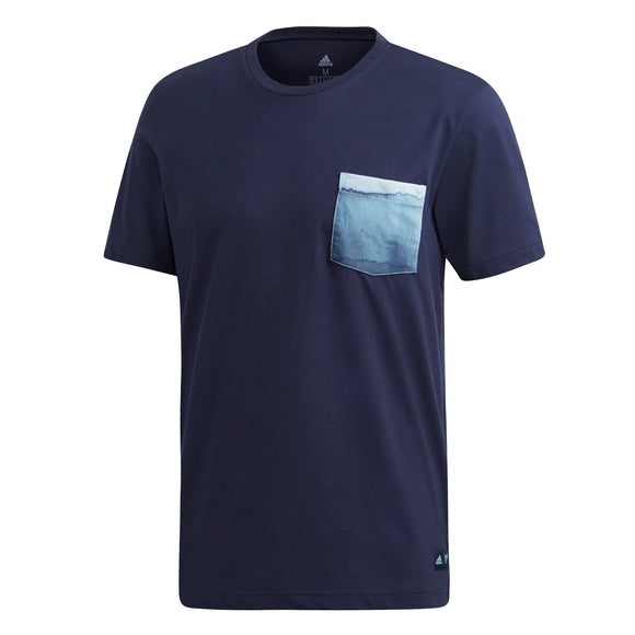 adidas Men's T-shirt - Parley Pocket Legend Ink DV2964 - VuTennis