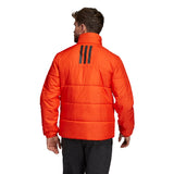 adidas Men's Jacket 3-Stripes Insulated Winter Orange DZ1401 - VuTennis