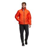 adidas Men's Jacket 3-Stripes Insulated Winter - Orange DZ1401 - VuTennis