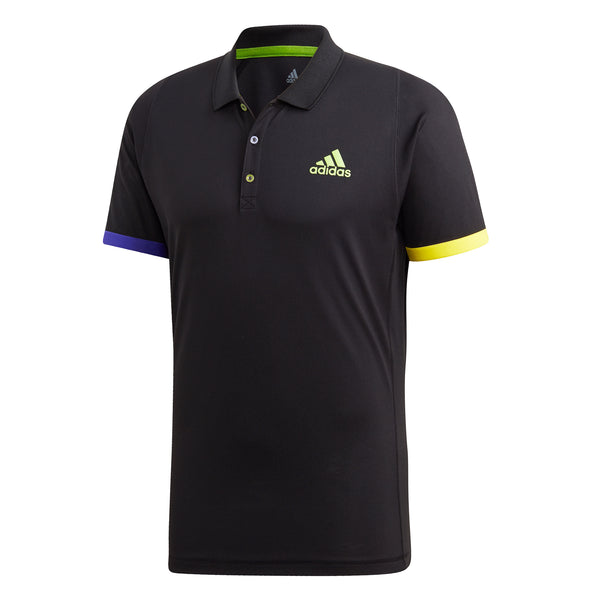 adidas Men's Polo Limited Ed Black FI8186 - VuTennis