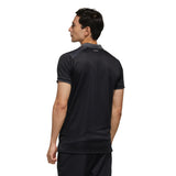 adidas Men's Polo Colorblock Pique - Black/Grey FN1451