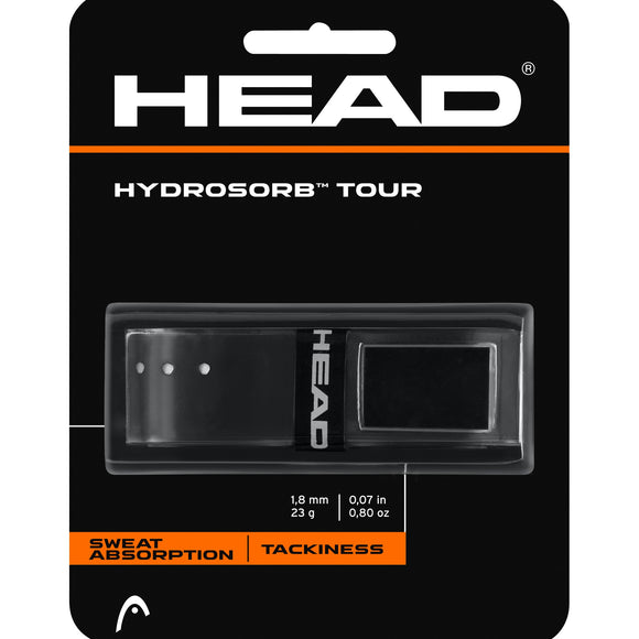 Head Hydrosorb Tour tennis replacement grip - VuTennis