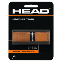 Head Leather Tour replacement tennis grip - VuTennis