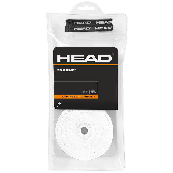Head Prime 30-pack tennis overgrip - VuTennis