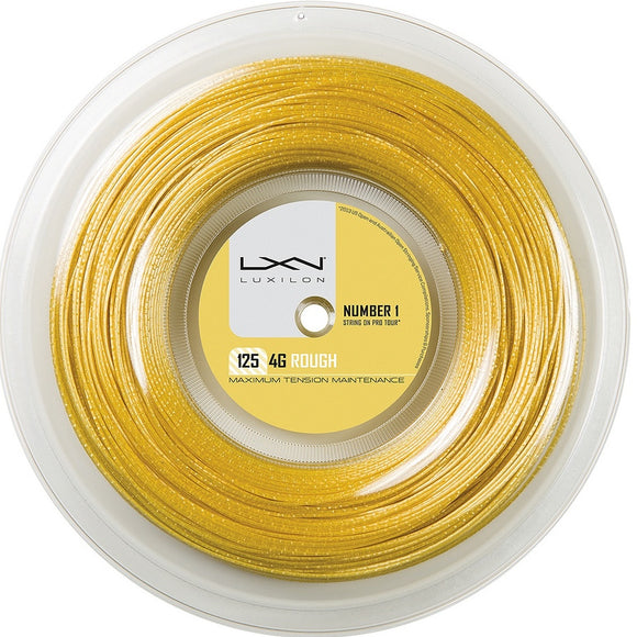 Luxilon 4G, 4G Rough 200m/660ft tennis string reel - VuTennis