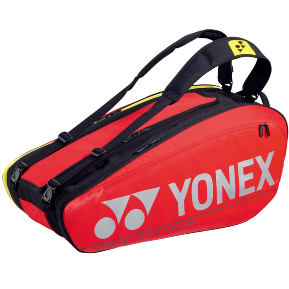 Yonex Pro Series Red 9 pack tennis badminton bag
