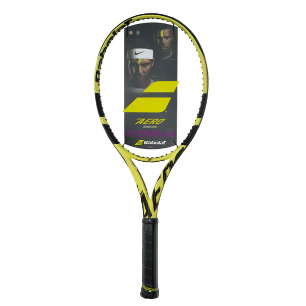 Babolat Pure Aero 2019 tennis racquet - Customize string & tension - VuTennis