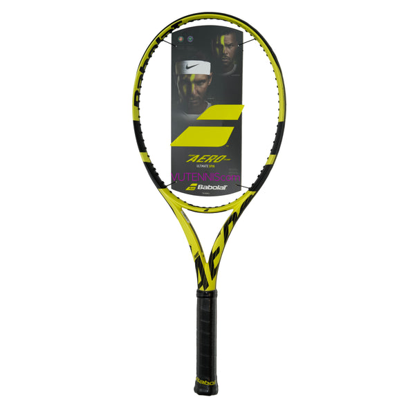 Babolat Pure Aero Team 2019 tennis racquet - Customize string - VuTennis