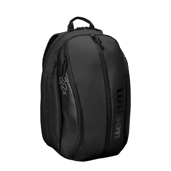 Wilson RF DNA collection Black backpack tennis bag - VuTennis