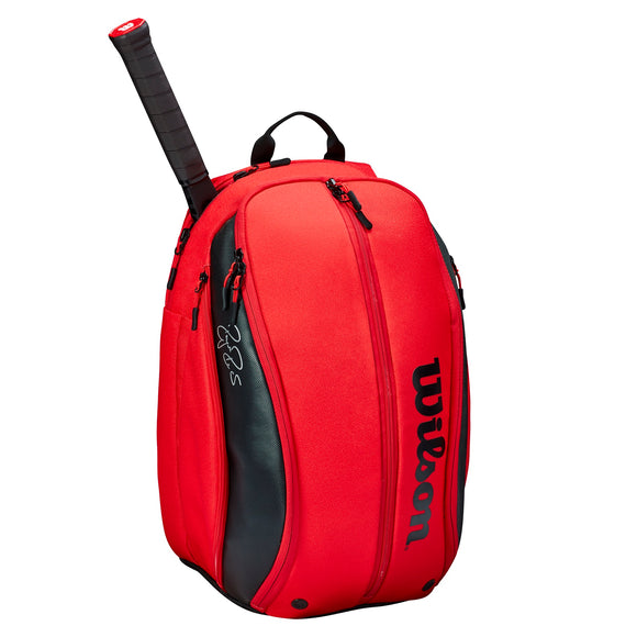 Wilson RF DNA collection Red backpack tennis bag - VuTennis