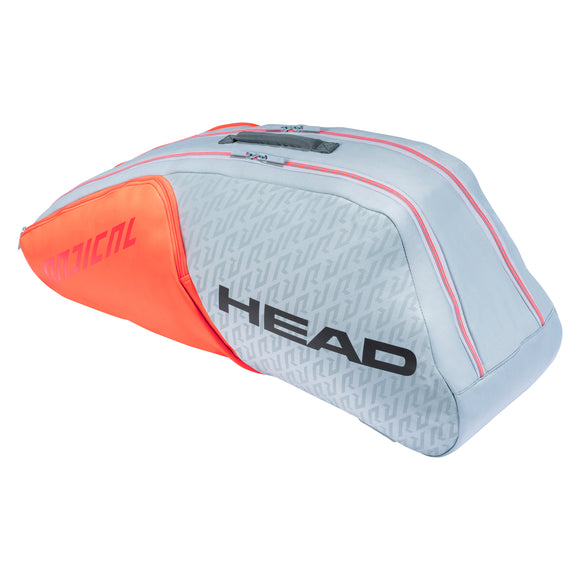 Head Radical 6R Combi Grey/Orange