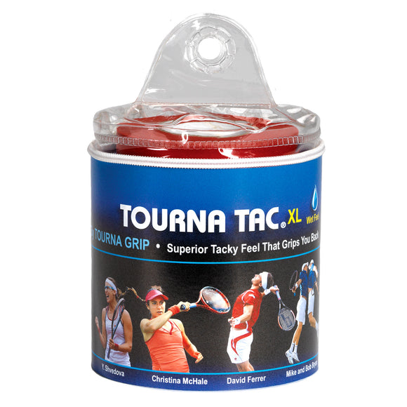 TOURNA TAC XL 30-pack tacky feel tennis overgrip - VuTennis