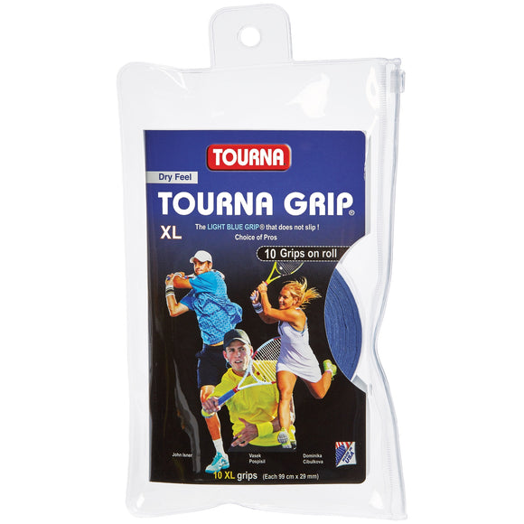 TOURNA GRIP ORIGINAL XL 10-pack tennis overgrip - VuTennis