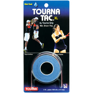 TOURNA TAC XL 3-pack tacky feel tennis overgrip - VuTennis