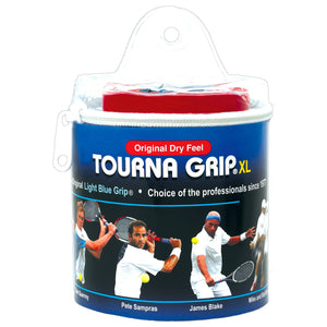 TOURNA GRIP ORIGINAL XL 30-pack tennis overgrip - VuTennis