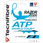 Tecnifibre Razor Code 16 17 18 Blue Carbon White tennis string