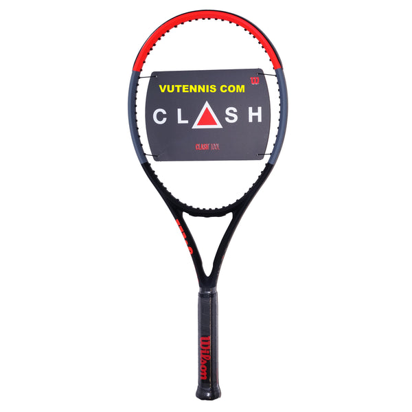 Wilson CLASH 100L tennis racquet - Custom string - VuTennis