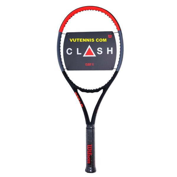 Wilson CLASH 98 tennis racquet - Custom string - VuTennis