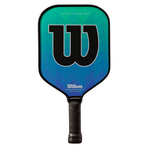 Wilson Energy Pro Green/Blue Pickleball Paddle - VuTennis