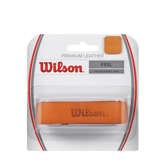Wilson Premium Leather tennis grip - VuTennis
