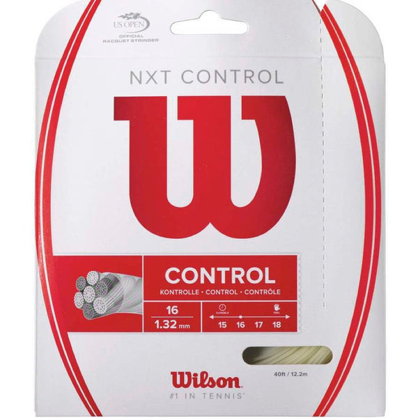Wilson NXT Control 16G/1.32mm tennis string - VuTennis