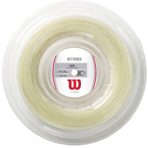 Wilson NXT Power 16g/1.30mm 660ft/200m tennis string reel - VuTennis
