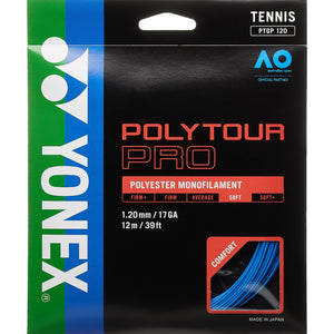 Yonex Poly Tour Pro Blue tennis string - VuTennis