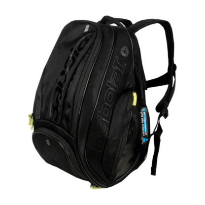 Babolat Pure Black Limited backpack tennis bag - VuTennis