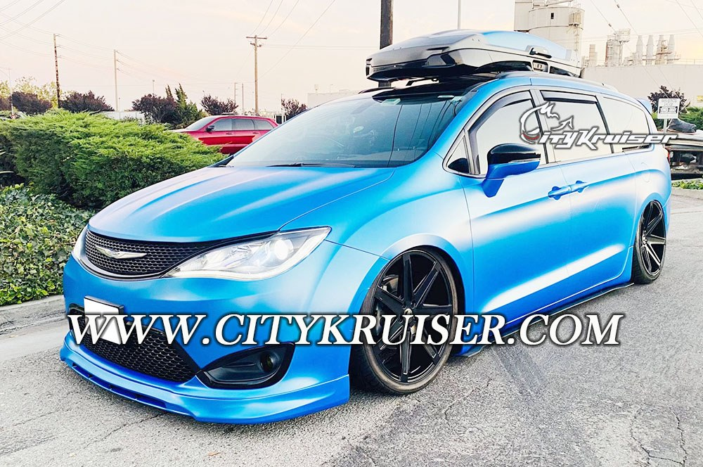 Citykruiser Style Front Lip For 2017-2020 Chrysler Pacifica
