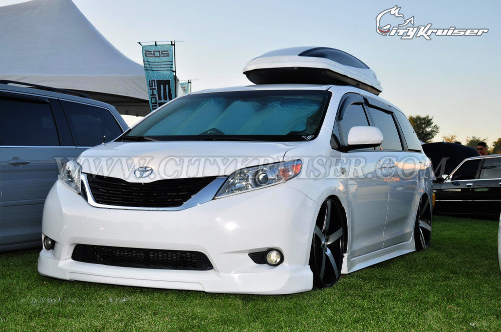 CK-JDM Front Lip For 2011-2017 Toyota Sienna LE & XLE