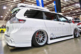 CityKruiser Side Skirts For 2011-2018 Toyota Sienna SE LE XLE