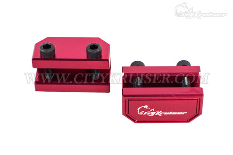 CityKruiser Jack Up Adapter Set - Red (JDM Vehicles Only)