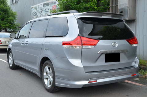 CityKruiser MP Style Rear Lip For 2011-2017 Toyota Sienna LE XLE