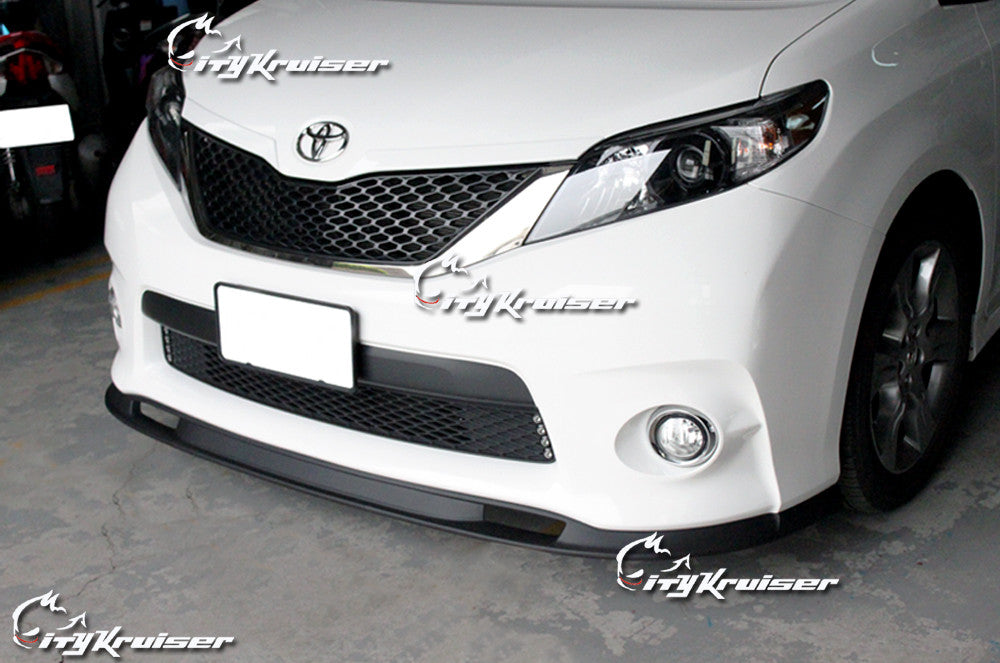CityKruiser SK Style Front Lip For 2011-2017 Toyota Sienna SE