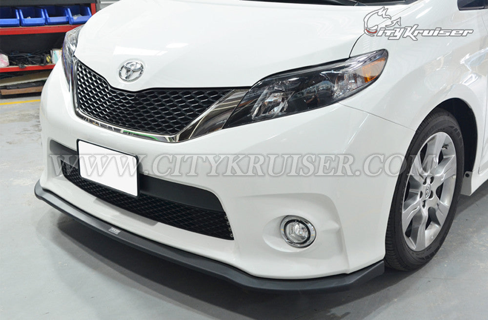 MP Style Front Lip For 2011-2017 Toyota Sienna SE (ABS)