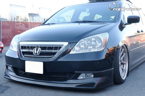 CityKruiser MU-Style Front Lip For 05-07 Honda Odyssey 3rd Generation