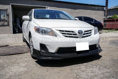 T STYLE FRONT LIP FOR 2011-2013 TOYOTA COROLLA
