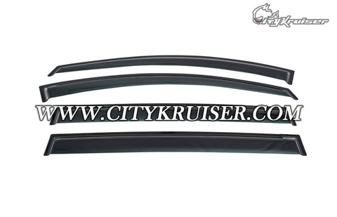 06-15 Mazda 5 Window Rain Guard Visors (Tinted)