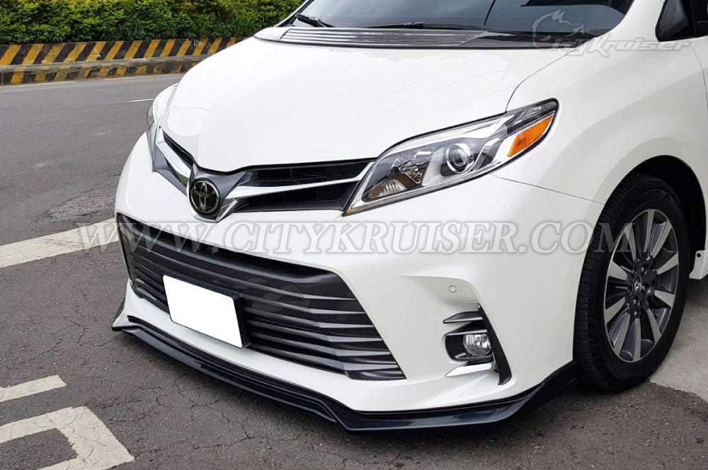 low priced abce9 407cc CityKruiser MP Front Lip for 2018 & UP Toyota Sienna SE XLE LE (ABS)