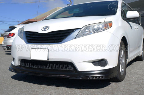CityKruiser CK Front Lip for 2011-2017 Toyota Sienna LE & XLE
