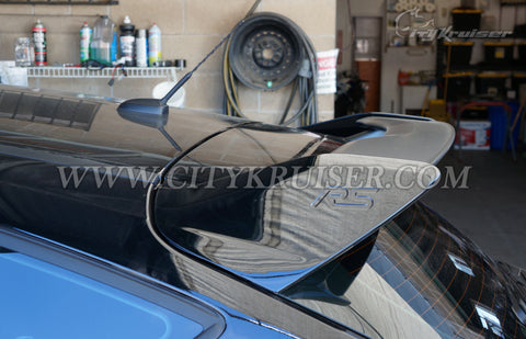 13-17 Ford Focus Hatchback RS-Style Rear Roof Spoiler (ABS Plastic)