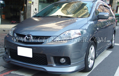 06-07 Mazda 5 K-Style Front Lip (ABS Plastic)