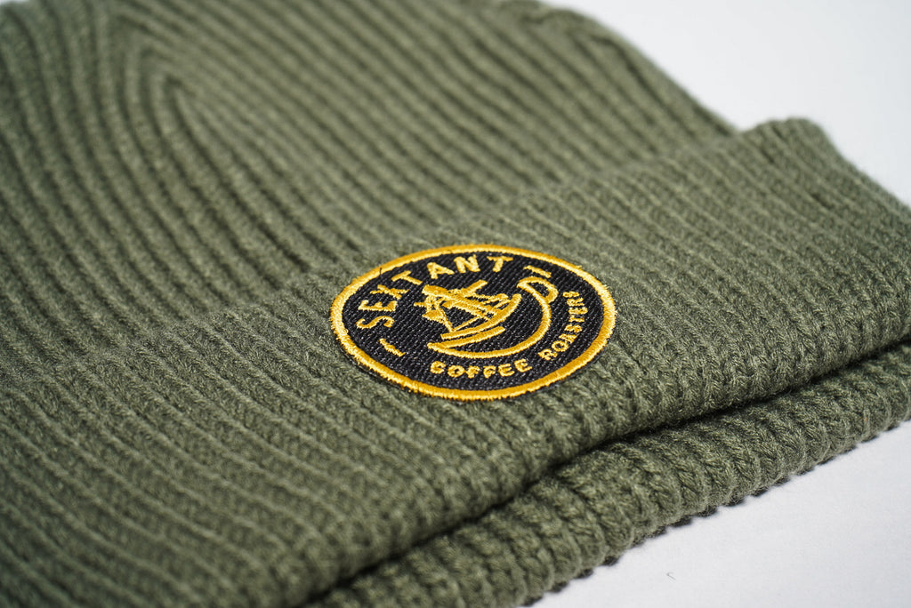 Sextant Army Green- Watch Cap
