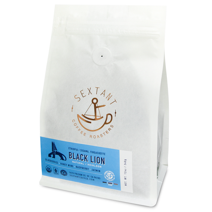 Black Lion - Organic Yirgacheffe Heirloom - Ethiopian Coffee